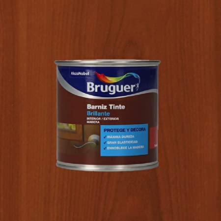 Bruguer Barniz Tinte BTE.BRUGUER Cerezo 750 ML, Negro: Amazon ...