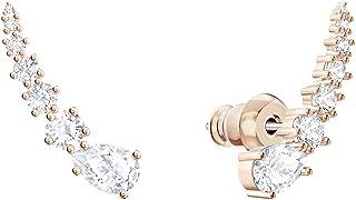 SWAROVSKI Dames klemoorbellen roestvrij staal kristal 5486352