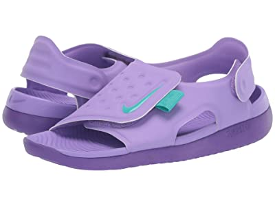 Nike Kids Sunray Adjust 5 (Little Kid/Big Kid) (Atomic Violet/Hyper Grape/Hyper Grape) Girls Shoes
