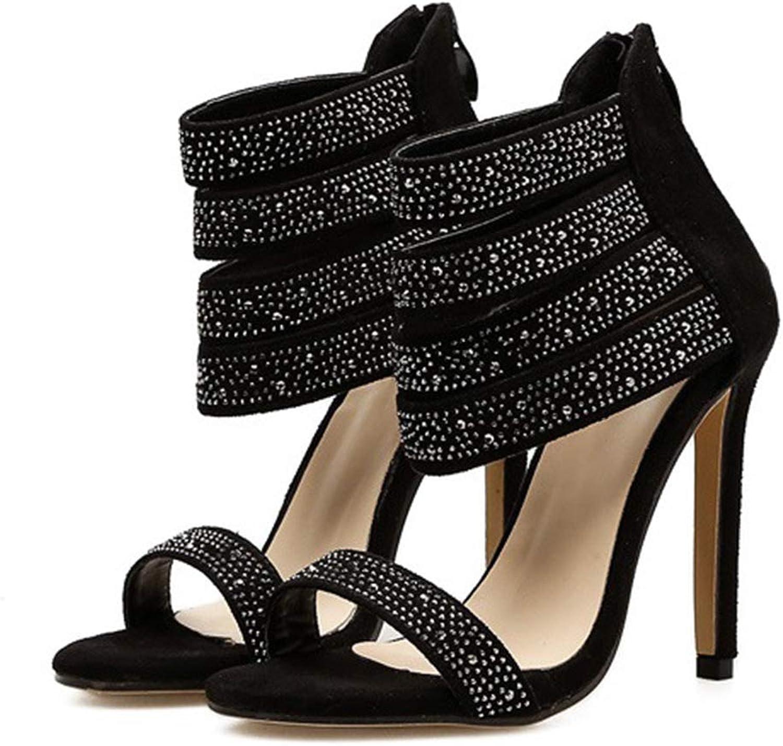 Kyle Walsh Pa Women Sandals Pumps Peep Toe Stiletto Ankle Strap Ladies Stylish High Heel shoes