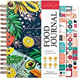 PLANBERRY Food Journal – Nutrition Planner with Diet & Calorie Tracker – Wellness Diary for Tracking Meals & Exercise – Weight Loss Journal for Women & Men - 6.3″ x 8.5″ (Summer Smoothie)