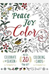 Peace. Joy. Color.: Celebrate the Season with 20 Tear-Out Coloring Cards Cards