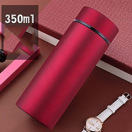 KEFFG Vakuum Flasche Edelstahl-Beschriftung des Wasserbechers Der Großen Kapazität des Geschäftsbechers Große Tragbare B07LGPFK6G | Stilvoll und lustig