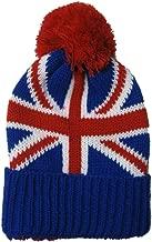 Union Jack Kids Child Beanie Hat Winter Cap Red White Blue British by Okitani