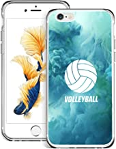 Case for iPhone 6s 6 Volleyball,ChyFS Phone Case,TPU Protective Clear Case