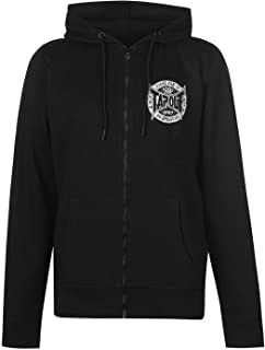 tapout zipped hoody mens