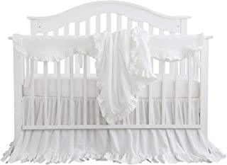 ruffle crib set