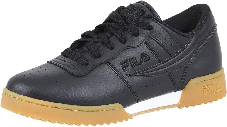 Fila Hommes's Original Fitness Ripple paniers, noir, 12 M US
