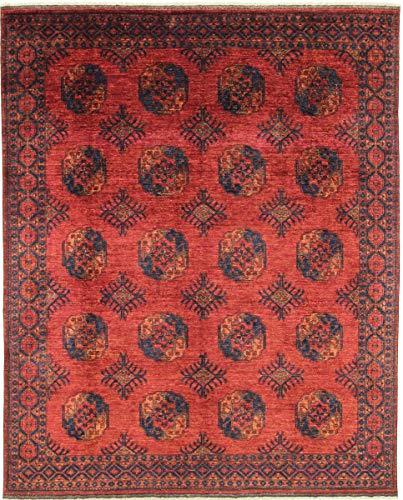 Nain Trading Afghan Ersari 306x255 Orientteppich Teppich Rot Handgeknüpft Afghanistan