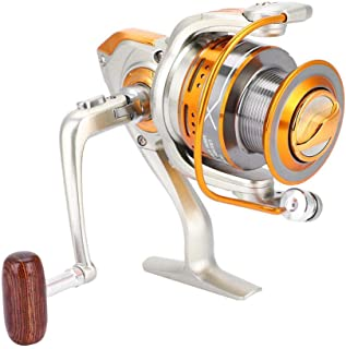 Vbestlife. Spinning Fishing Reel,13+1BB Bearings,Metal Rocker Arm Without Gap Spinning Reel Fishing Wheel Left/Right Handed KN Series KN2000-7000 Saltwater Freshwater