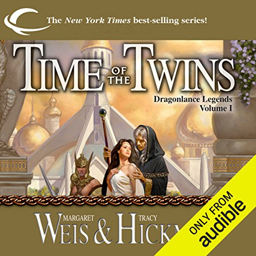 Time of the Twins     Dragonlance: Legends, Book 1              By:                                                                                                                                 Margaret Weis,                                                                                        Tracy Hickman                               Narrated by:                                                                                                                                 Ax Norman                      Length: 15 hrs and 12 mins     20 ratings     Overall 4.5