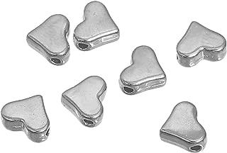 30 Kappen Verschlüsse Ohrringe Silber Kunststoff Schmuck Kreation Perle