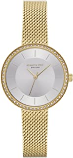 Kenneth Cole Women's Silver Dial STAINLESS STEEL Band Watch - KC50198005