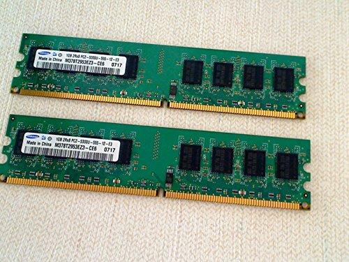 1GB PC2–5300(667MHz) 240Pin Ddr2Dimm Samsung m378t2953cz3-ce6(BZN (Band)) RAM