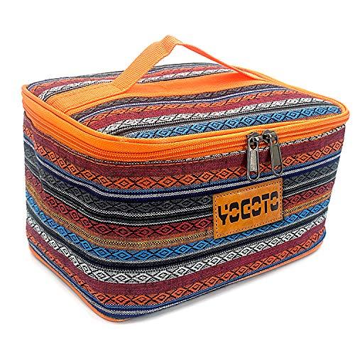 【YOGOTO】 スパイスボックス 調味料ケース ランチボックス キャンプ アウトドア BBQ