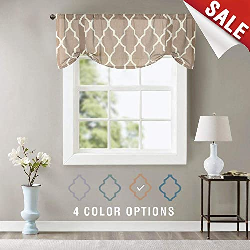 Modern Valance Curtain for Bedroom: Amazon.com