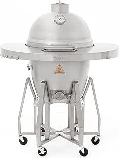 Blaze Freestanding Cast Aluminum Kamado Grill (BLZ-20-KAMADO-CART-RDSH), Round Shelf