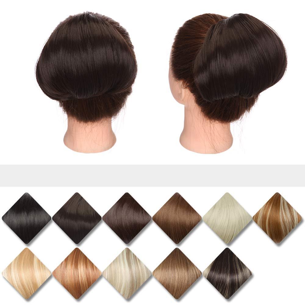 Hair Bun Piece Up Drawstring Style Do Hepburn Max Boston Mall 43% OFF
