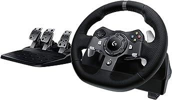 عجلة قيادة درايفينج فورس لاجهزة اكس بوكس 1 و بي سي من لوجيتك G920