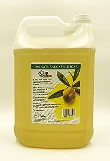 1 Gallon 100% Natural Castile Soap