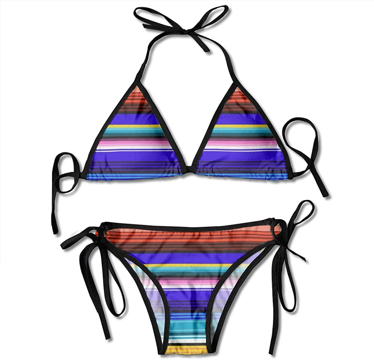 Mexicans girls in bikinis Amazon Com Nonebrand Beautiful Mexican Stripes Padded Push Up Bikini Set Two Piece Swimsuit Beach Bathing Suits For Women Girls Sexy Clothing