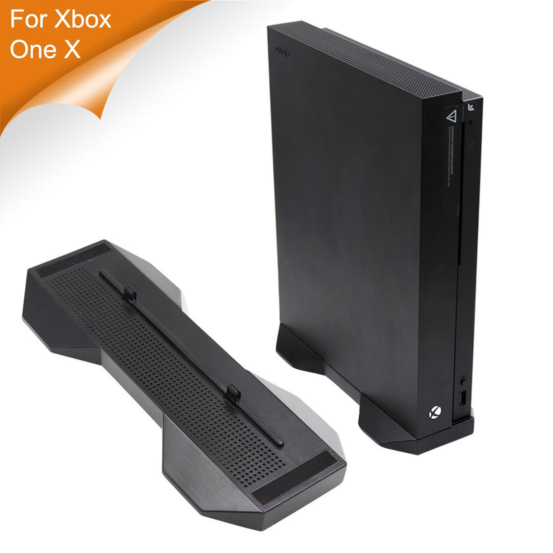 LeSB Vertical Console Stand for Xbox One X, Color Negro: Amazon.es: Hogar