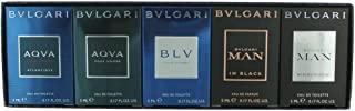 Bvlgari Miniatures The Men's Gift Collection (Pack of 5)