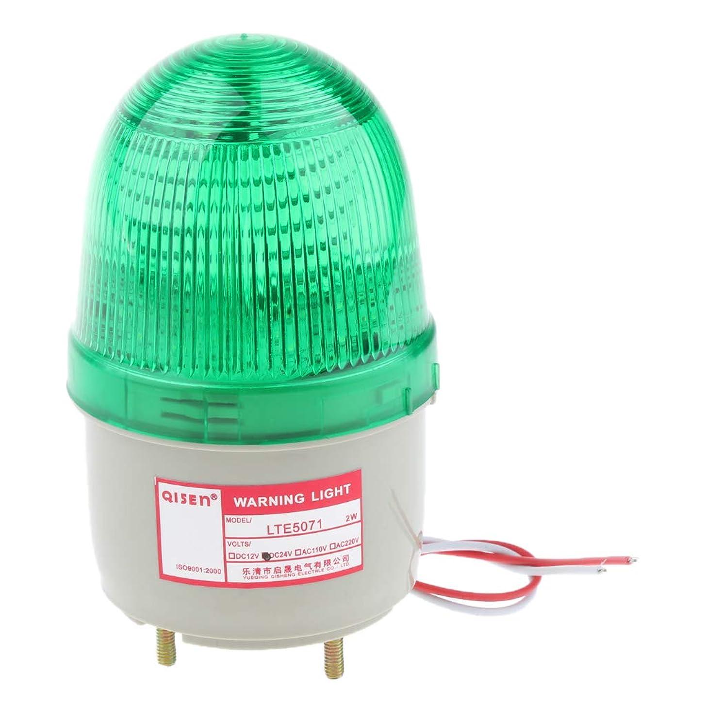 ドリルコンサート全くP Prettyia DC24V LED点滅ライト 警告灯 ストロボ/常時点灯 フラッシュライト 信号ライト 非常灯 - 黄