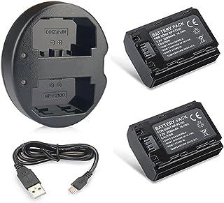 comprar comparacion Expresstech @ 2X Reemplazo batería NP-FZ100 FZ100 NPFZ100 2280mAh + USB Cargador para Sony Alpha a9 7R III a7 III a7R3 a73