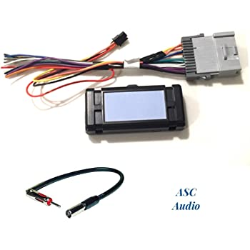 [CSDW_4250]   Amazon.com: ASC Audio Premuim Car Stereo Radio Wire Harness and Antenna  Adapter for Some GM Chevrolet 03-06 Silverado, Tahoe, Suburban, Sierra  etc.- Built in 12 Volt Power Wire - Works with and | Chevrolet Audio Wiring |  | Amazon.com