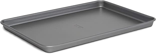 Cooking Light Baking Sheet Non-Stick, Quick Release, Carbon Steel Bakeware, Cookie 15x10, Gray