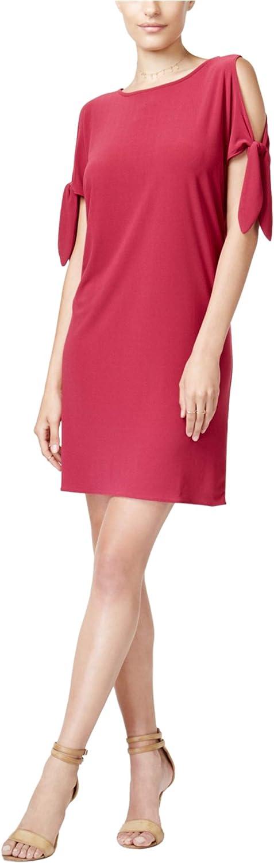 25% OFF bar III Womens Tie Dress Shift Detail safety