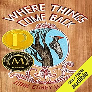 Where Things Come Back audiobook cover art