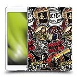 Head Case Designs Officially Licensed Custom Customised Personalised AC/DC ACDC Vintage Arte Carcasa de Gel de Silicona Compatible con Apple iPad 10.2 (2019)/(2020)/(2021)