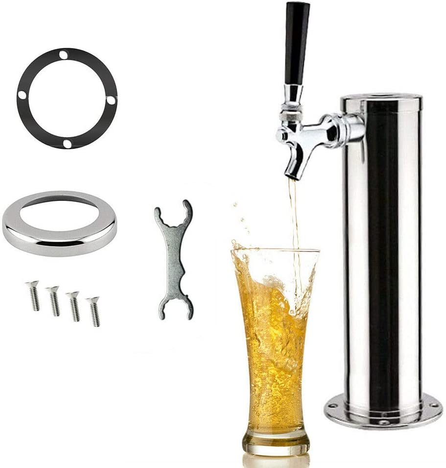 Single Tap Stainless Steel Beer with Limited Special Price supreme Faucet for Tower