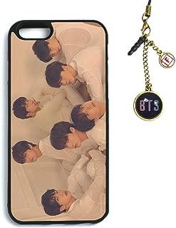 Fanstown Kpop BTS Bangtan Boys iPhone 6/6s case Love Yourself 轉 Tear + Dust Plug Charm (G25)