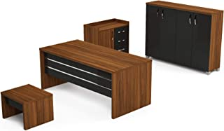 "Casa Mare 71"" Executive Home Office Suite 