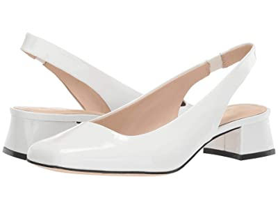 Kate Spade New York Sam (White Patent) Women
