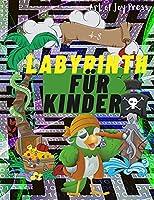 Labyrinth fuer Kinder 4-8: Erstaunliches 108-Seiten-Labyrinth-Aktivitaetsbuch │ Labyrinth-Arbeitsheft fuer Kinder mit herausfordernden Spielen und Problemloesung │ Alter 4-6, 6-8 │ Kindergarten, Vorschule, Problemloesung │ Labyrinth-Puzzles