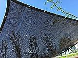 MILEKL 50% -60% Sombra Solar Sombra de Tela Red Sombra de Malla con Ojales Sombra Solar Tela Tela de Malla Red Resistente a los Rayos UV para Plantas de Flor de jardín de Invernadero,3m*5m
