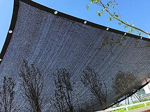 MILEKL 50% -60% Sun-Block Shade Net Mesh Shade mit Ösen Sun Mesh Shade Net UV-beständiges Netz für Gewächshausgartenblumenpflanzen,3m*6m