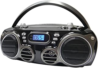 SYLVANIA SRCD682BT Bluetooth(R) Portable CD Radio Boom Box with AM/FM Radio consumer electronics Electronics