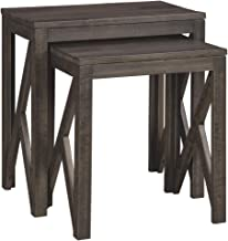 Ashley Furniture Signature Design - Emerdale Accent Tables - Set of Two - Casual - Gray