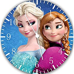 Frozen Anna Elsa 10 Wall Clock W475 Nice for Gift or Wall Decor