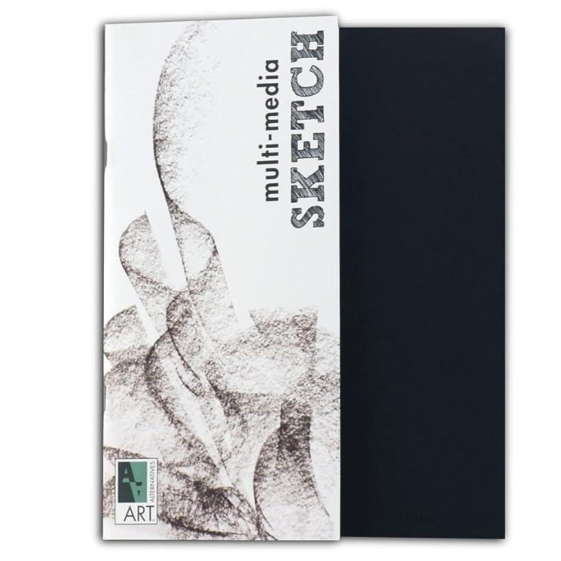 Black Sketch Book Multimedia 8.5X11