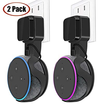 Outlet Wall Mount Holder Hanger Stand for Alexa...