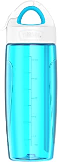 THERMOS Sport Bottle with Covered Straw, 24-Ounce, Teal