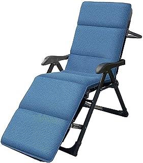 sahadsbv GOutdoor Lot de 6 chaises longues pliantes zéro gravité pour terrasse 67 cm