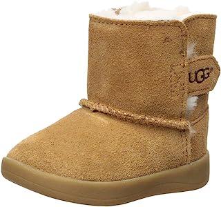 حذاء UGG للأطفال من الجنسين I Keelan Fashion، باللون الكستنائي، مقاس 2/3 M US رضيع