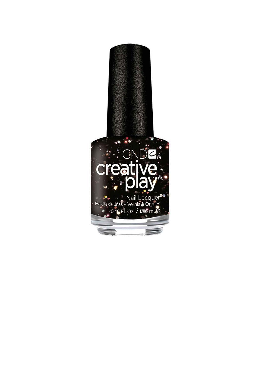 写真回復する黒人CND Creative Play Lacquer - Nocturne it Up - 0.46oz / 13.6ml